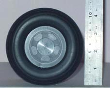 Spitfire scale wheels (pair)