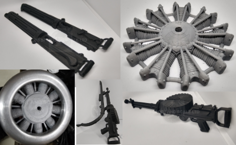 3d Printed Engines and Guns